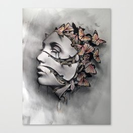 metamorfosis  Canvas Print