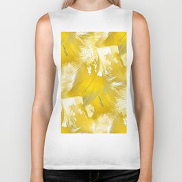 Golden Feathers Biker Tank
