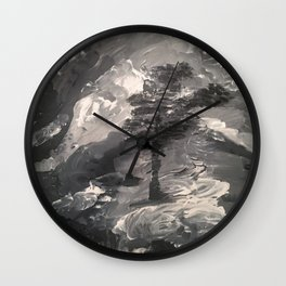 The Last Tree - Humans Demise Wall Clock