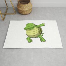 Dabbing Turtle Shirt Turtles Tortoise Dab Kids Rug