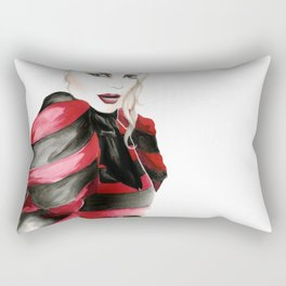 McQueen A/W 2009 Illustration Rectangular Pillow