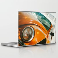 volkswagon Laptop & iPad Skins featuring Buggin' out by dnlamria