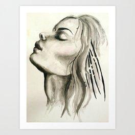 First Breath Art Print