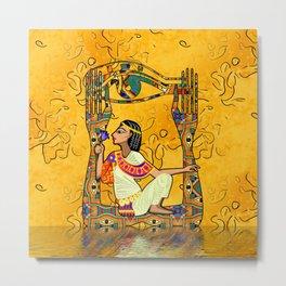 Egyptian Fusion Metal Print