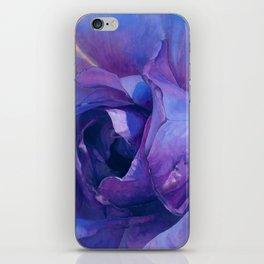 Floribunda Rose - Electric Purple iPhone Skin
