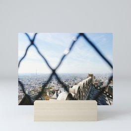 View of the Eiffel Tower from Sacré-Cœur Mini Art Print
