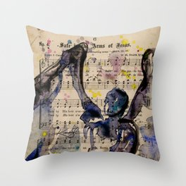 Calling All Angels No. 46 Throw Pillow
