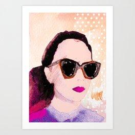 Karen Walker  Art Print