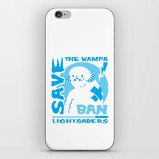 Save the Wampa iPhone Skin