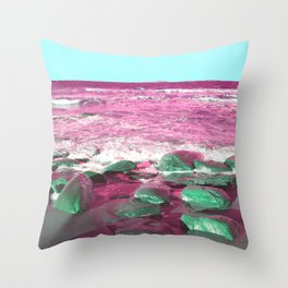 pink see Throw Pillow