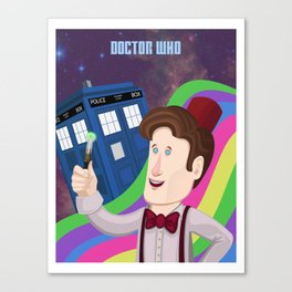 Doctor Who Returns Canvas Print