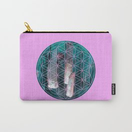 Crystal flower of life | Secret Geometry Carry-All Pouch