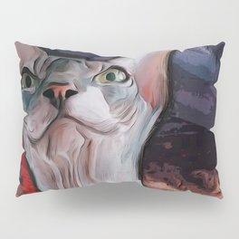 Evil cat. Pillow Sham