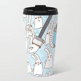 Dust bunnies Travel Mug