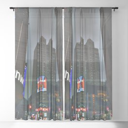 Shanghai 六 Sheer Curtain