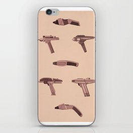Set Phasers to Stun iPhone Skin
