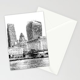 City of London Art Panorama Stationery Cards