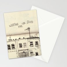 Waiting  for the Bus - serie II Stationery Cards