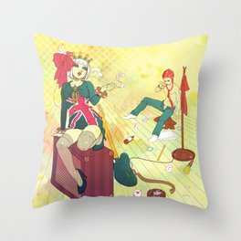 After Dinner Throw Pillow