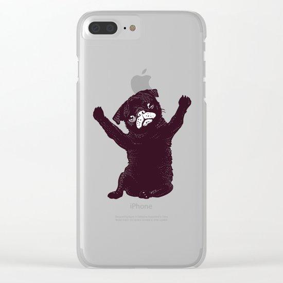 Hug Clear iPhone Case