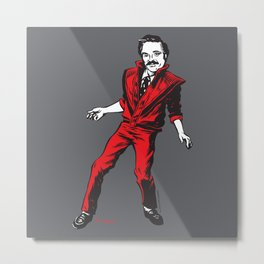 Barney Thriller Metal Print