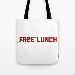 FREE LUNCH 3 Tote Bag