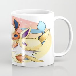 Jolteon Vaporeon and Flareon Coffee Mug
