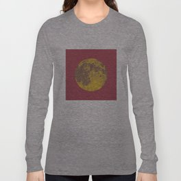 Chinese Mid-Autumn Festival Moon Cake Print Long Sleeve T-shirt