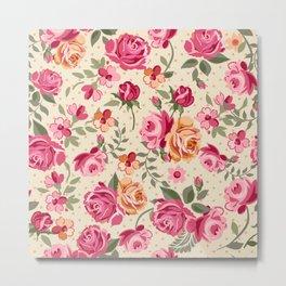 Flowers seamless patterns 27 Metal Print