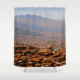 Above Cusco Shower Curtain