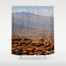 Above Cusco Shower Curtain