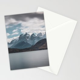 Somewhere over the mountain range Stationery Cards