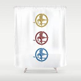 Mockingjay Shower Curtain