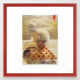 bcsm 004 (teepee) Framed Art Print