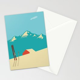 Vintage Mountains Stationery Cards