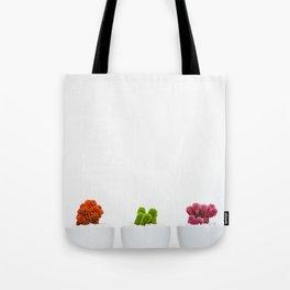 Colorful Pots Tote Bag