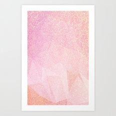 Glitter 2017 Art Print