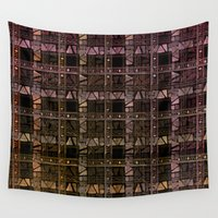 ethnic Wall Tapestries featuring ethnic pattern by VanessaGF