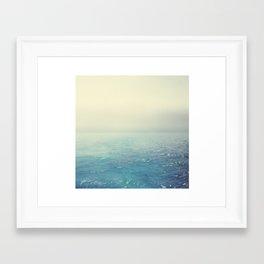 Foggy Daydream Framed Art Print