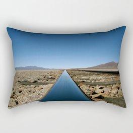 Long Line to Bolivia Rectangular Pillow