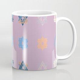 Triniti Snow Crystal Dusky Pink Coffee Mug