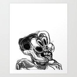 Memory Portrait III Art Print
