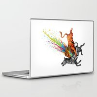 kill la kill Laptop & iPad Skins featuring Kill Monotony by Enkel Dika