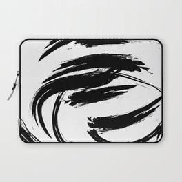 Foundry Abstract Brush Strokes 1 Laptop Sleeve