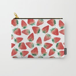 Strawberry Love Carry-All Pouch