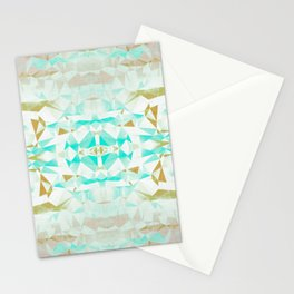 Geometric 1952 - Mid Century Modern Distressed Stationery Cards