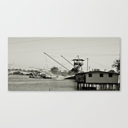 Trabucco Canvas Print