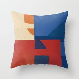 Sailing in a Sea of Doubts Throw Pillow