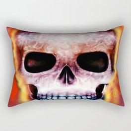 Ghost Rider Rectangular Pillow