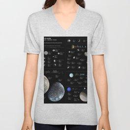 Small Bodies of the Solar System Unisex V-Neck